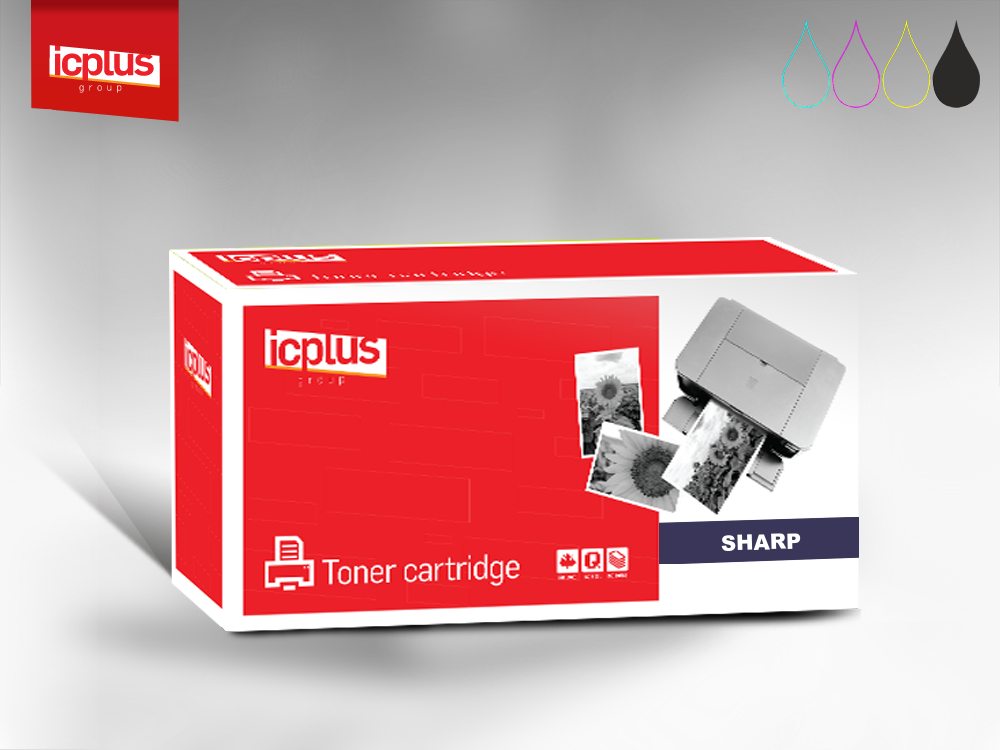 IC+ toner Sharp AR-016T Black 16k - zamiennik - AR-5015/ 5120/ 5316/ 5320