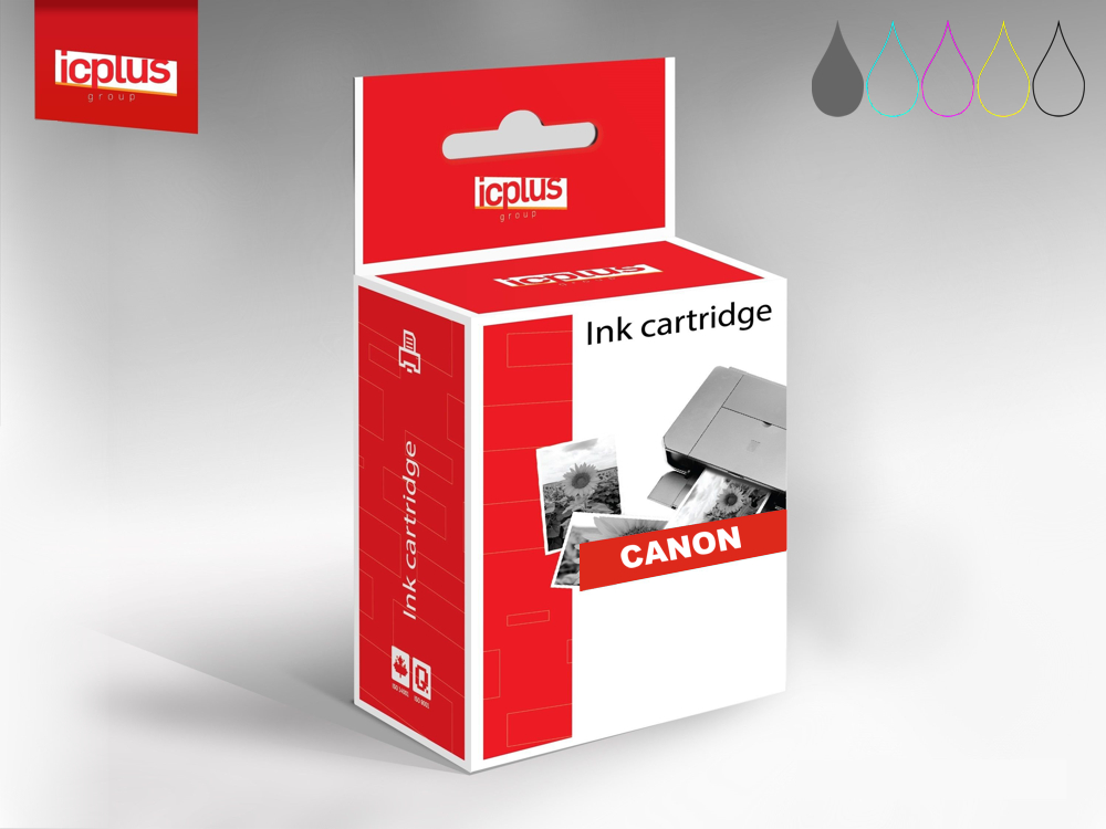 IC+ tusz Canon CLI-551XL Grey 11ml - zamiennik - Pixma iP7250/ iP8750/ MG5450/ MG5550/ MG5650/ MG6350
